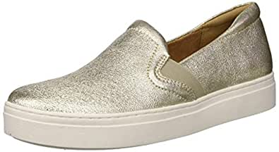 Naturalizer Women's Carly 3 Sneaker, Gold, 4 M US