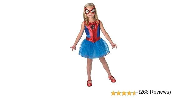 Disfraz para niña Rubies, de Marvel, oficial, Spidergirl, grande ...