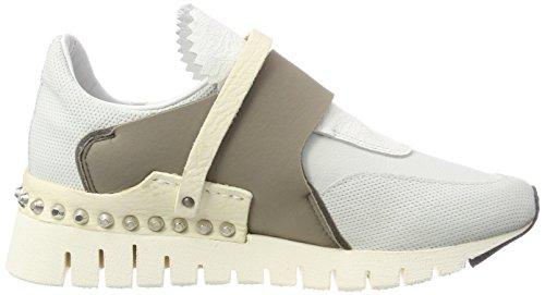 White Grey White Denalux Ankle A Women's 0001 Boots Multicolour 98 White S White White qTPqvz