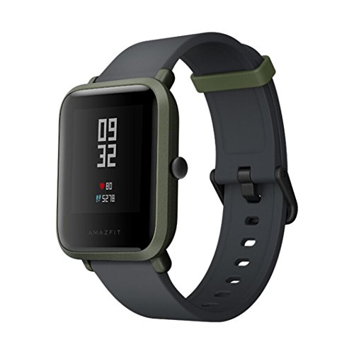 AutumnFall Xiaomi Mi Amazfit Bip Smart Watch Huami Bluetooth Band with Heart Rate Monitor Pedometer Activity and Sleep Monitor Fitness Tracker GPS IP68 Waterproof 2018 (Green) Review