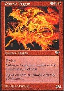 - Magic: the Gathering - Volcanic Dragon - Mirage