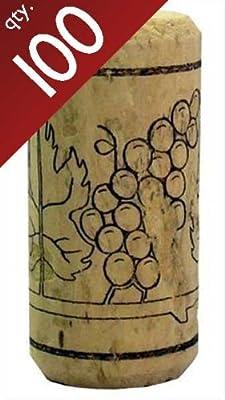 "# 7 Straight corks 13/16"" x 1 3/4"". Bag of 100"