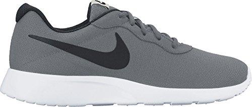 NIKE Herren Tanjun Premium Cool Grey / Weiß / Leichter Knochen / Schwarz