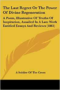 Essays and reviews 1861