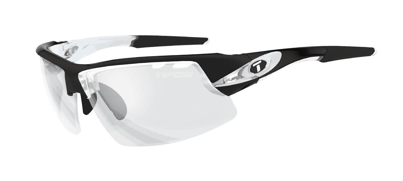 Tifosi Crit Sunglasses, Crystal Black with Light