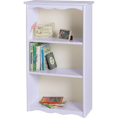 - Little Colorado Traditional Bookcase, Unfinished
