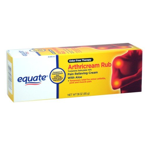 Equate - Arthritiscream Rub, Pain Relieving Creme, 3 oz