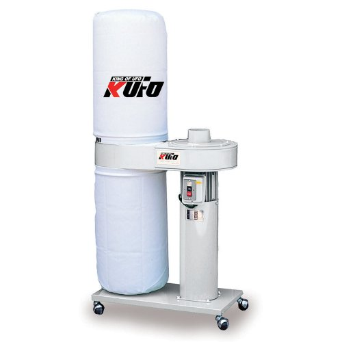Kufo Seco UFO-90 1HP 696 CFM Vertical Bag Dust Collector by Air Foxx