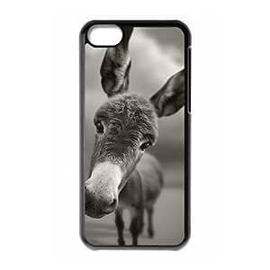 iPhone 5c Cell Phone Case Black Donkey 009 KYS1104209KSL