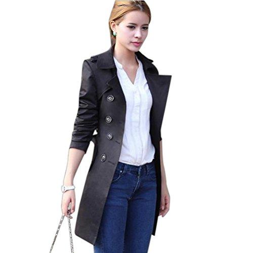 Jacket Cappotto Parka Pzj® Cappotti Lungo Nero InvernaleGiacca Donna Giacche doeWxBQrC