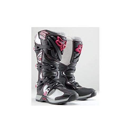 FOX COMP 5 WOMENS MX/OFFROAD BOOTS BLACK/PINK 5 (Fox Womens Boots)