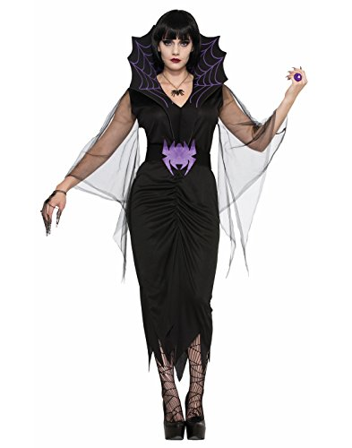 Forum Women's Spiderella Lady Value Costume, As Shown, STD
