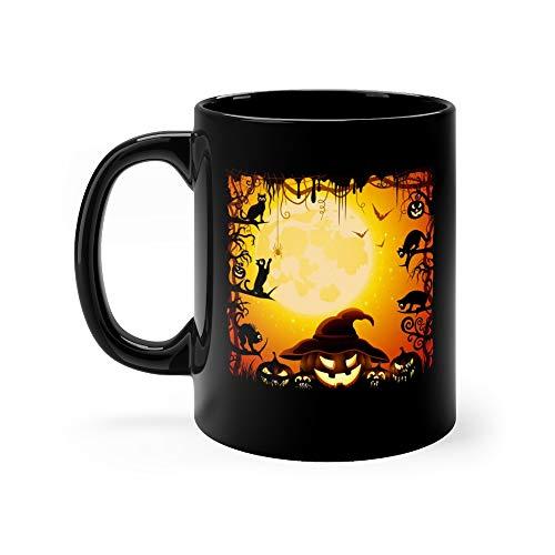 Halloween Pumpkins Mug 11 Oz Ceramic]()