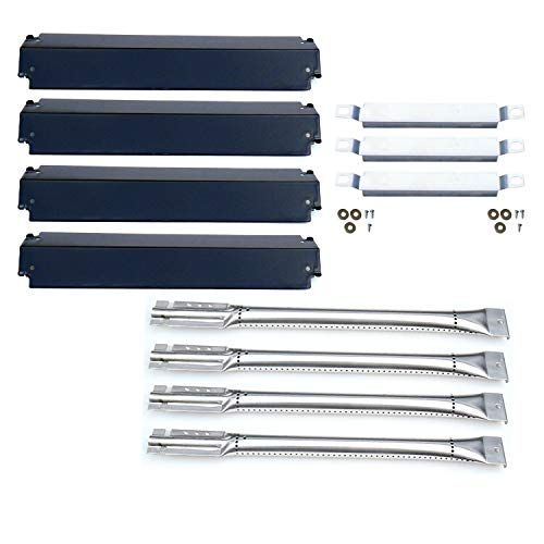 Direct store Parts Kit DG101 Replacement Charbroil Gas Grill Burners,Heat Plates and Crossover Tubes ()