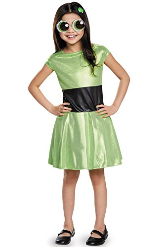 Buttercup Classic Powerpuff Girls Cartoon Network Costume, X-Large/14-16
