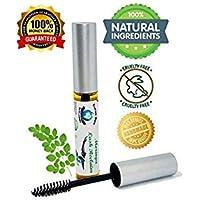 Moringa Lash Reclaim 100% Natural Eyelash Serum for Growth. Superfood Vitamin Herb Fortified. Lash Serum Eyebrow Growth Serum to Grow Lashes & Brows. Handmade in the USA. 10 ML