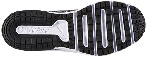 Nike Air Max Sequent 2, Zapatillas de Entrenamiento para Niños Negro (Black/white/dk Grey/wolf Grey)