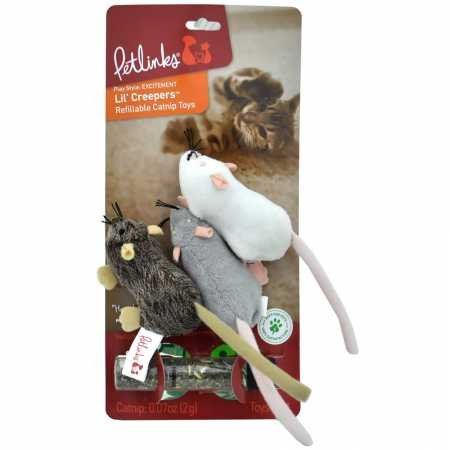 Petlinks Refillable Catnip Cat Toys ()