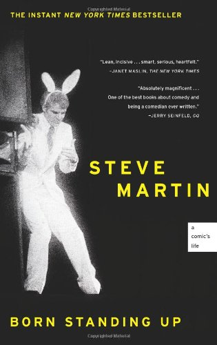 Born Standing Up by Steve Martin book cover