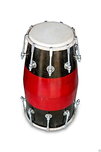 DHOLAK DRUMS~18 BOLT ~MADE WITH MANGO WOOD~DHOLKI~YOGA~BHAJAN~KIRTAN~MANTRA 0180 by SAI MUSICAL