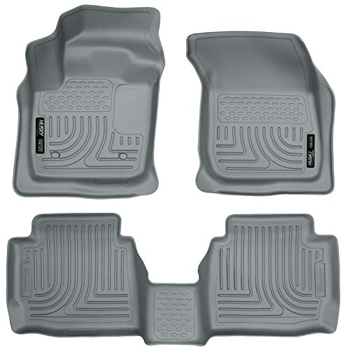 Husky Liners – 99752 Fits 2013-2016 Ford Fusion Energi/Titanium, 2013-2016 Lincoln MKZ Weatherbeater Front & 2nd Seat…