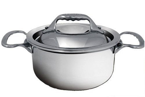 DeBuyer Affinity Minis 1.05-Quart Mini Stewpan, Stainless Steel by De Buyer