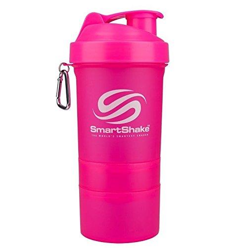 SmartShake Original Neon Pink, 20Oz