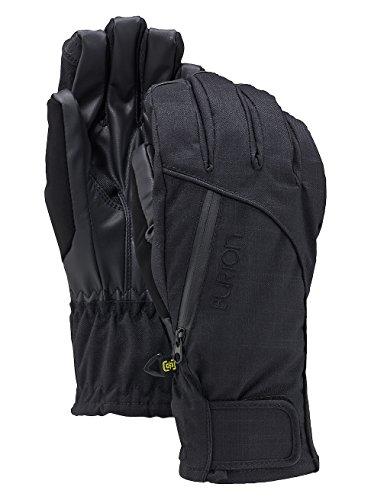 Burton Baker 2 in 1 Under Glove Ski Snowboard Gloves True Black, Women's Extra (Burton Baker Snowboard Mitts)