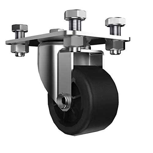 BIGANT Crate Swivel Caster Wheel Set of 4 Pcs - Accessory for Portability, Roll Crate Cart Rolling Totes ()