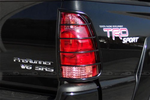 (Pack of 2) Steelcraft 33250 05-15 TOYOTA TACOMA TLG BLK Tail Light Guards