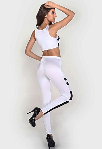 Pinkyee - Pantalón - para mujer blanco
