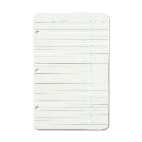 Wilson Jones Looseleaf Address 812R