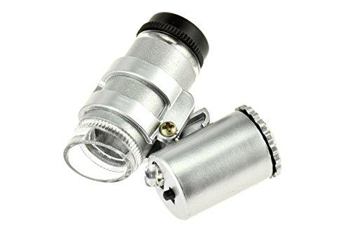 SE MW10088UV-16X Mini 16X UV Illuminated Microscope