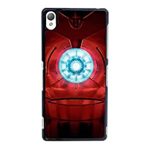 Marvel Movie Iron Man For Sony Xperia Z3 Black Cell Phone Case Cover 14WB1218412