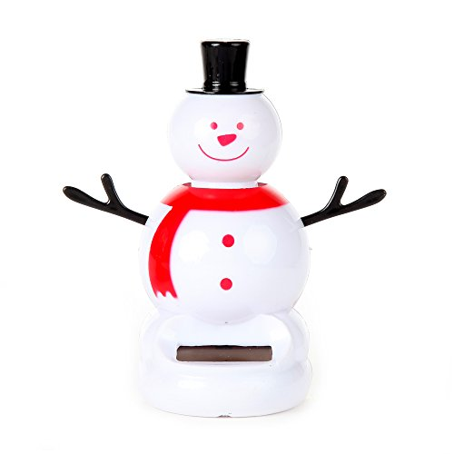 - Home-X Solar Powered Dancing Snowman