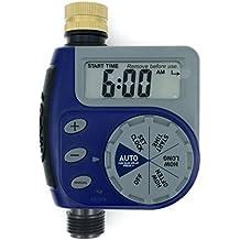 One Outlet Single-Dial Hose Faucet Timer (Blue)