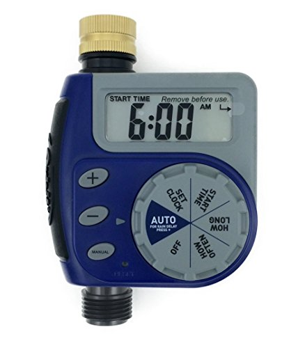 Orbit One Outlet Single-Dial Hose Faucet Timer (Blue)