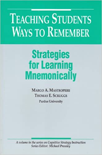 Teaching Students Ways To Remember Strategies For Learning