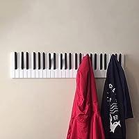 surfsexy Piano Houten Kapstok Piano Keys Wandmontage Kapstok Hanger Wanddecoratie Hoed Opbergrek Houten Plank