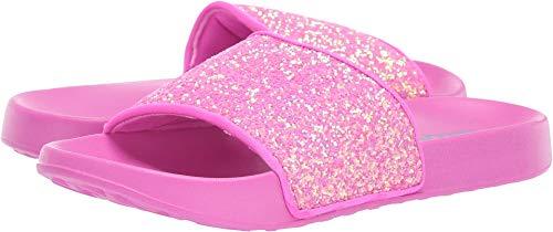 Skechers Kids Girl's Sunny Slides (Little Kid/Big Kid) Hot Pink 2 M US Little Kid - Hot Pink Slide
