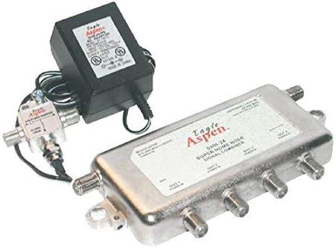4-Way Splitter Combiner CATV Off-Air UHF Modulated Signal Super Home Node Modulator Audio Video Signal HD Satellite Dish TV Antenna Signal Combiner Amplifier