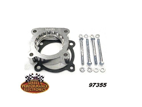Street & Performance Electronics 97355 Helix Power Tower Plus Throttle Body Spacer for 2004-2010 Toyota Highlander 3.3L, 2006-2010 Avalon 3.5L, 2007-2010 Camry 3.5L - Toyota Camry Throttle