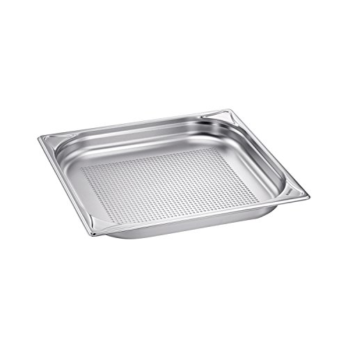 Blanco Stainless Steel Gastronorm Pan-GN 2/3, Perforated, 3L Capacity, 1Piece, 1565799