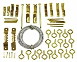 Tools & Hardware : Ook 50 Piece Assorted Picture Hanging Kit 10 - 50 Pounds #59204