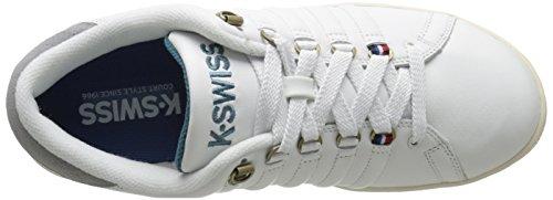 K-Swiss Lozan III P - Zapatillas unisex Blanco