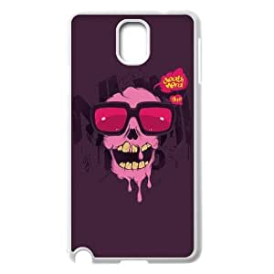 QSWHXN Skull Art 2 Phone Case For Samsung Galaxy note 3 N9000 [Pattern-5]