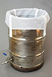 The Brew Bag (BIAB) - Fits a 15.5 Gallon Keggle for Home Brewing Beer