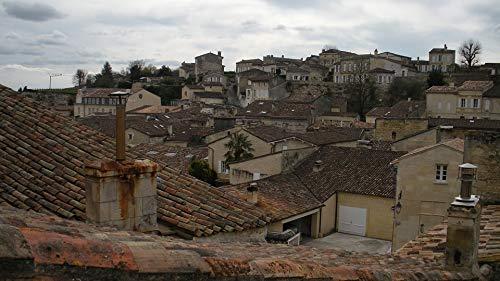 Home Comforts Canvas Print Vineyard Saint-emilion France Wine Village Vivid Imagery Stretched Canvas 32 x -