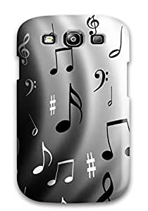 For Rachel B Hester Galaxy Protective Case, High Quality For Galaxy S3 Music Skin Case Cover
