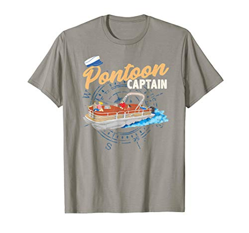 Beer Womens Cap Sleeve T-shirt - Pontoon Captain tee shirt Funny Pontoon Boating t-shirt